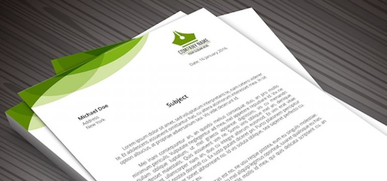 Business Letterheads: Creating A Letterhead For Your Brand