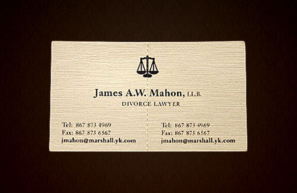 laywer-business-card