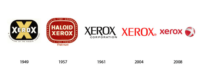 Xerox-Logo-Evolution