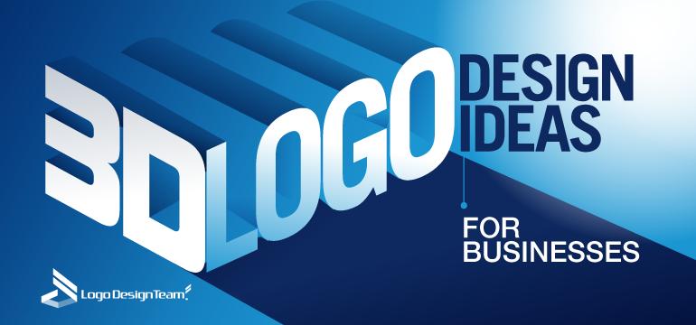 3D Logo Design Ideas For Businesses - LogoDesignTeam
