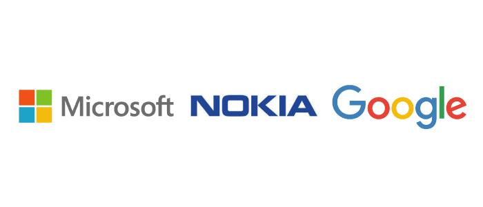 Microsoft-Nokia-Google_Logo