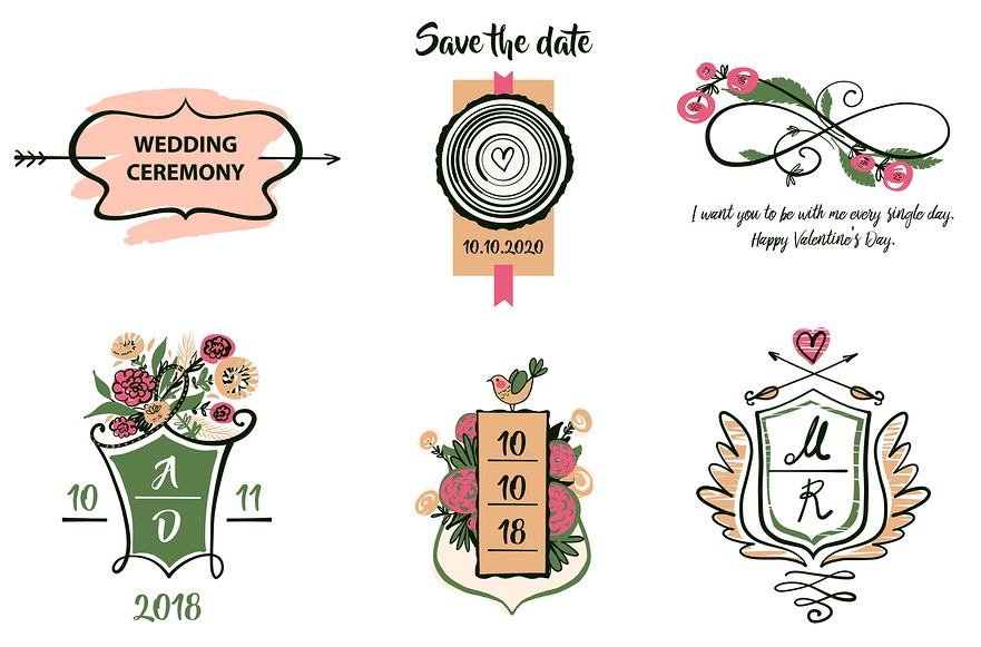 Wedding Logos How To Make Your Wedding Logo Memorable