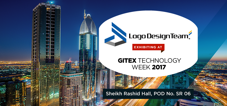 Logo Design Team Exhibiting GITEX 2017 Dubai