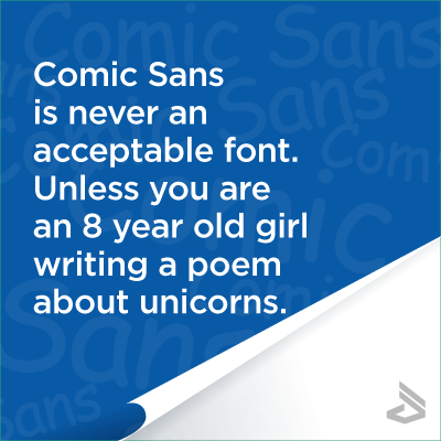 comic-sans-is-never-acceptable