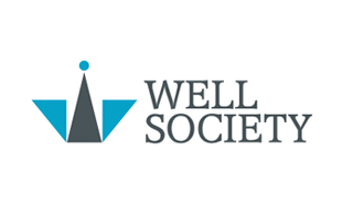 Well Society Abstract Logo Design