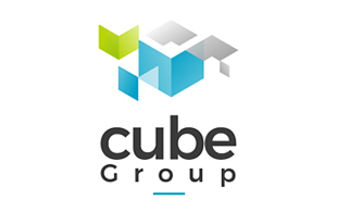 Cube Group Abstract Logo Design