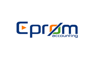 Cprom Accounting & Advisory Logo Design