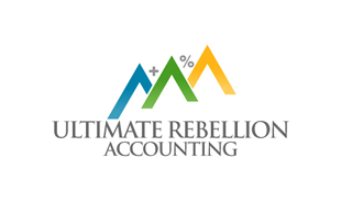 Ultimate Rebellion Accounting Accounting & Advisory Logo Design