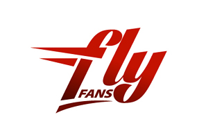 Fly Fans Airlines-Aviation Logo Design