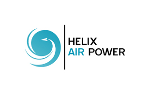 Helix Air Power Airlines-Aviation Logo Design