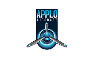 Applo Aircraft Airlines-Aviation Logo Design