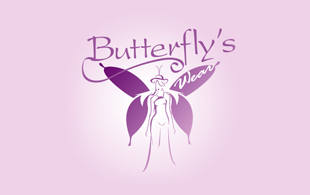 Butterfly's Apparels & Fashion Logo Design