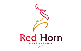 Red Horn Arty Logo Design