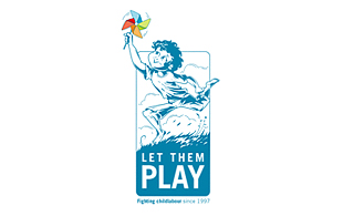 Let them Play Arty Logo Design