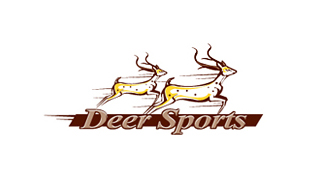 Deer Sports Arty Logo Design