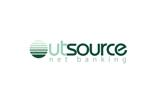 Out Source Net Banking Banking & Finance Logo Design