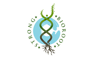 Strong Bioroot Biotechnology & Bioengineering Logo Design