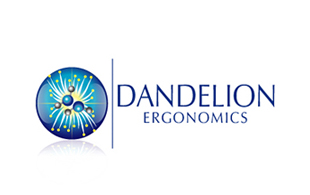 Dandelion Ergonomics Biotechnology & Bioengineering Logo Design