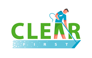 Clear First Cleaning & Maintenance Service Logo Design