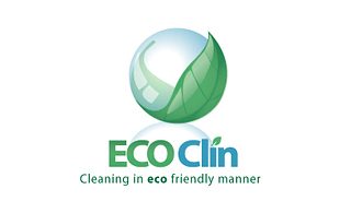 Eco Clin Cleaning & Maintenance Service Logo Design