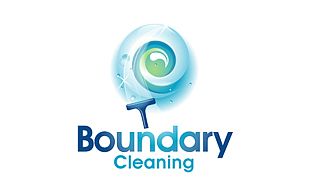 Boundary Cleaning Cleaning & Maintenance Service Logo Design