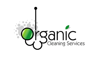 Organic Cleaning Services Cleaning & Maintenance Service Logo Design