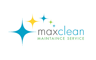 Maxclean Cleaning & Maintenance Service Logo Design