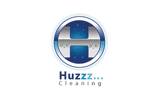 Huzzz... Cleaning Cleaning & Maintenance Service Logo Design