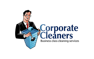 Corporate Cleaners Cleaning & Maintenance Service Logo Design