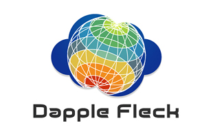 Dapple Fleck Cloud Computing Logo Design