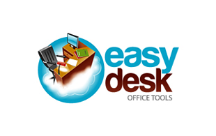 Easy Desk Cloud Computing Logo Design