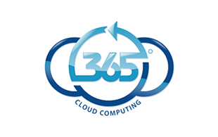 365 Cloud Computing Cloud Computing Logo Design