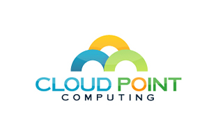 Cloud Point Cloud Computing Logo Design