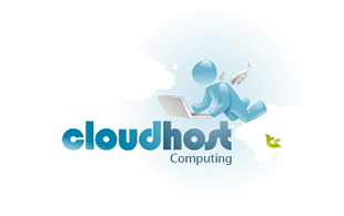 Cloudhost Cloud Computing Logo Design