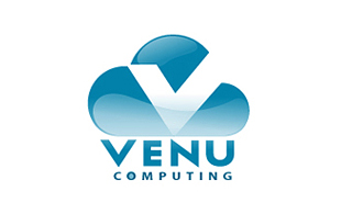 Venu Computing Cloud Computing Logo Design