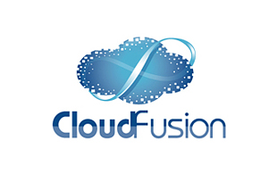 Cloud Fusion Cloud Computing Logo Design