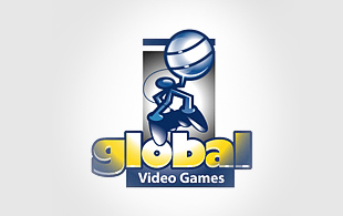 Global Video Games Computer & Mobile Games Logo Design