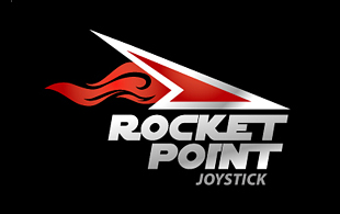 Rocket Point Computer & Mobile Games Logo Design