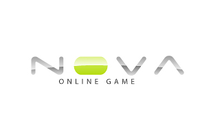 Nova Online Game Computer & Mobile Games Logo Design