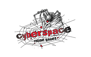 Cyber Space Computer & Mobile Games Logo Design