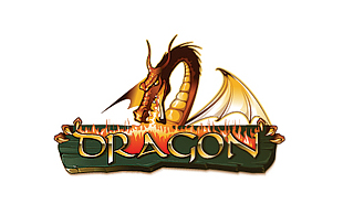 Dragon Computer & Mobile Games Logo Design