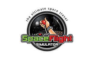 Space Flight Computer & Mobile Games Logo Design