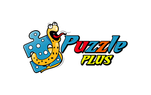 Puzzle Plus Computer & Mobile Games Logo Design