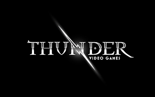 Thunder Video Games Computer & Mobile Games Logo Design