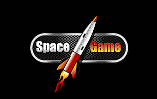 Space Game Computer & Mobile Games Logo Design
