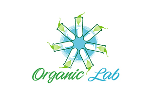Organic Lab Diagnostic & Medical Clinic Logo Design