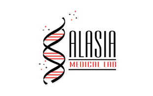 Alasia Medical Lab Diagnostic & Medical Clinic Logo Design