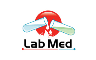 Lab Med Diagnostic & Medical Clinic Logo Design