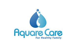 Aquare Care Diagnostic & Medical Clinic Logo Design