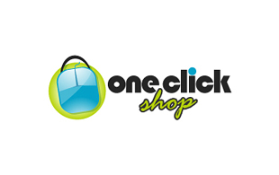One Click Shop E-commerce Websites Logo Design